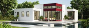 Immobilie Einfamilienhaus Designstudie v2
