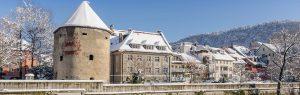 Wasserturm Winter Feldkirch