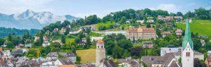 Stadt Feldkirch Frühling